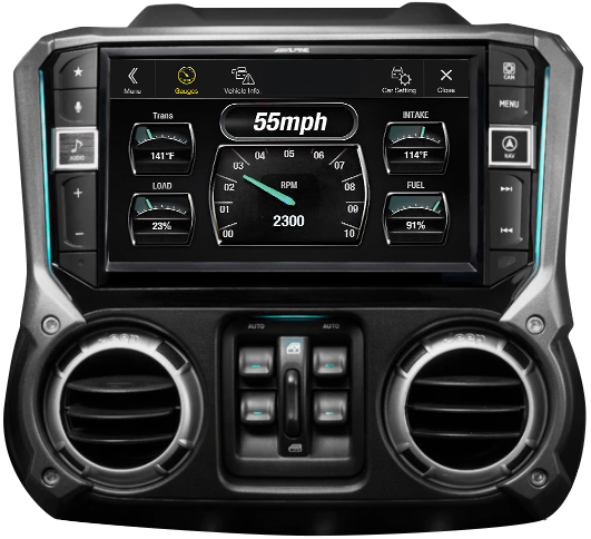 Alpine Car Stereo Video GPS