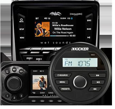 Marine Stereo Media Player