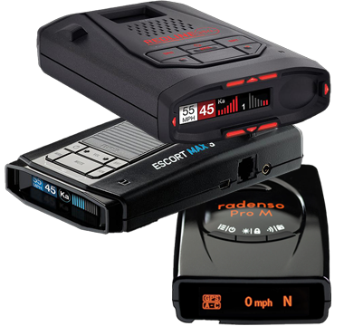 Portable Radar Detector