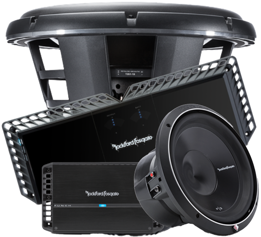 Rockford Fosgate Amps and Subwoofers