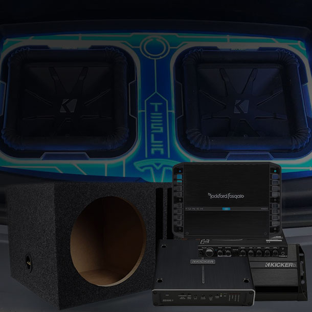 Amplifiers, Subwoofers, & Enclosures