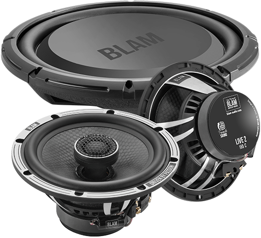 Blam Car Speakers