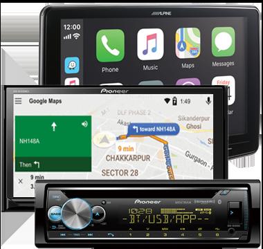Car Stero Head Unit DVD Navigation